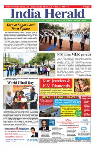 India Herald 013019 By India Herald Issuu