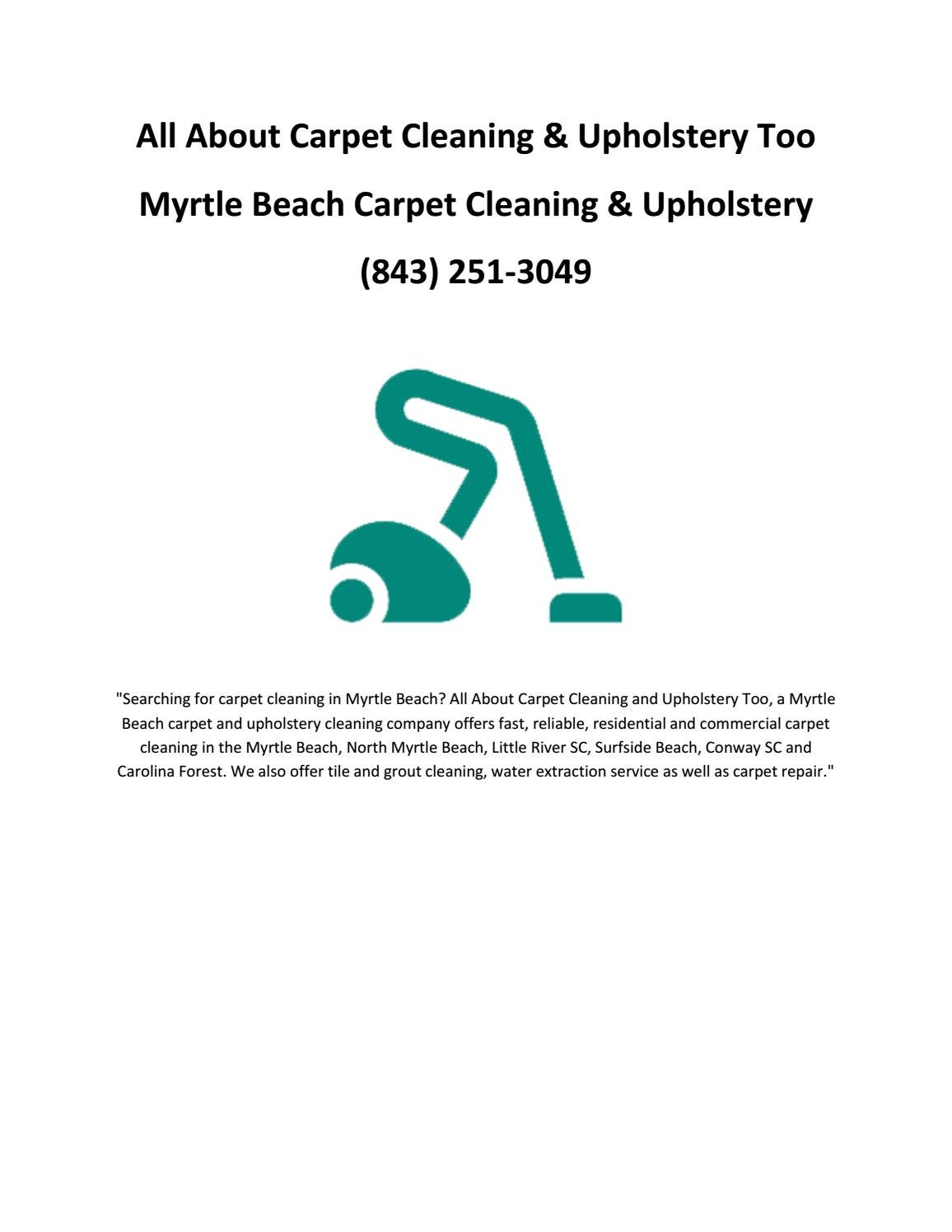 Carpet Cleaning Myrtle Beach Myrtle Beach Carpet Cleaning