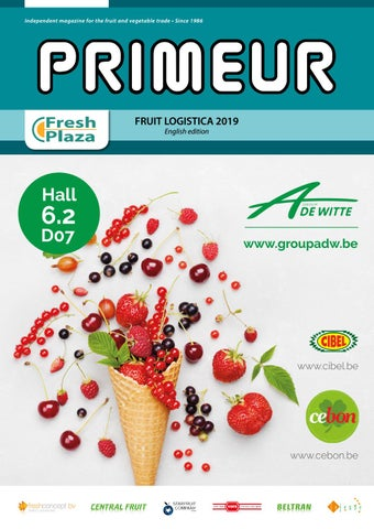 Primeur • English Edition • Fruit Logistica 2019 by AGF Vormgeving ... 23cb7c116