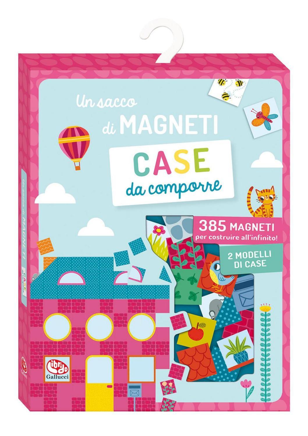 Modelli Di Case Da Costruire un sacco di magneti. case da comporre by carlo gallucci