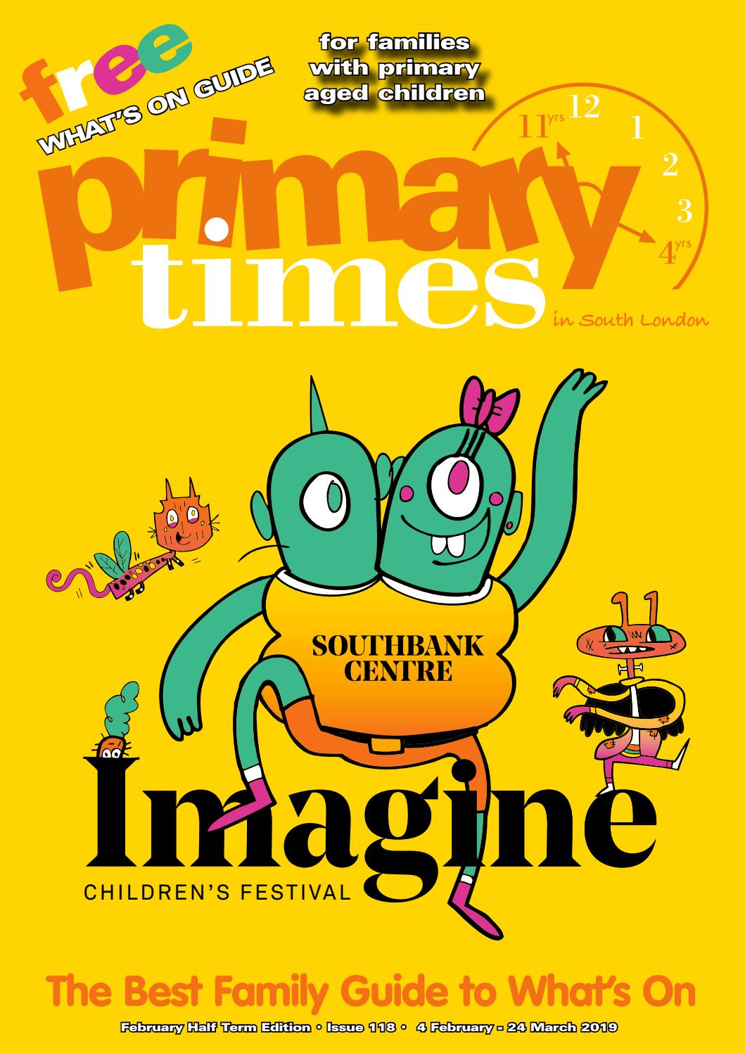 South London February 2019 Primary Times by Alison Watson