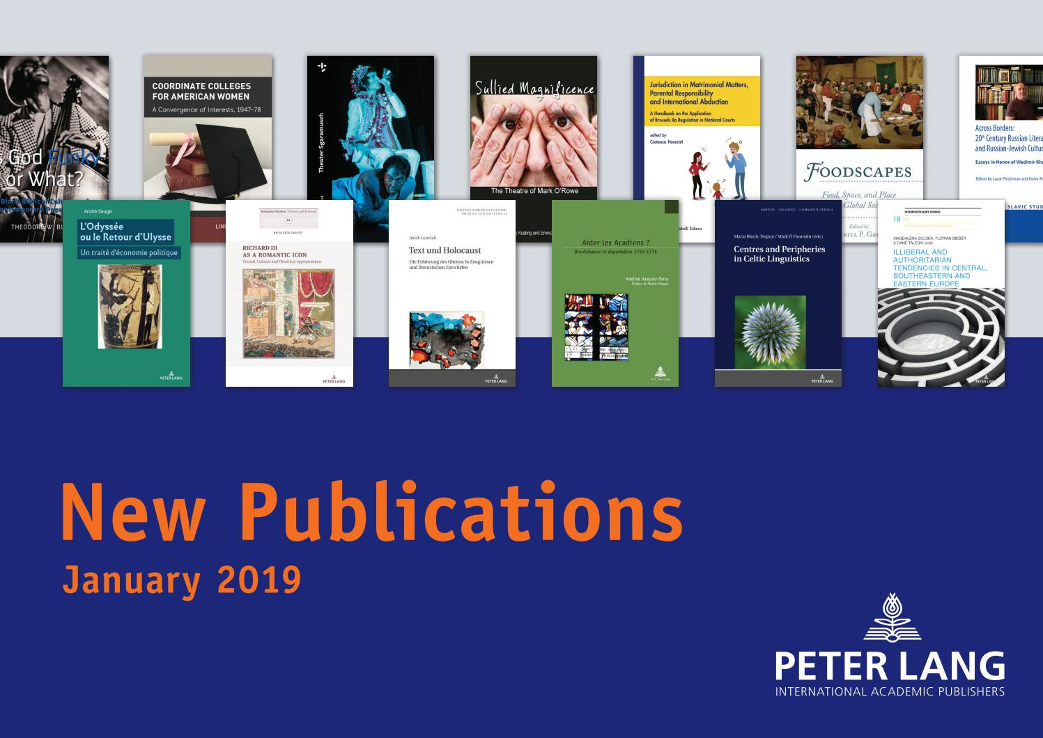 monthly catalogue january 2019 by peter lang publishing  data systems austria ag in insolvenz #7