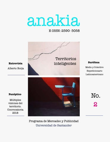48189a30e7 Territorios inteligentes - Revista ANAKIA by Revista ANAKIA - issuu