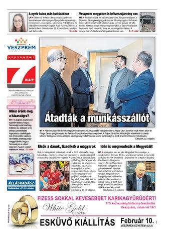 Veszprémi 7 Nap - 2019. 01. 31. by Maraton Lapcsoport Kft. - issuu a62128f8cf