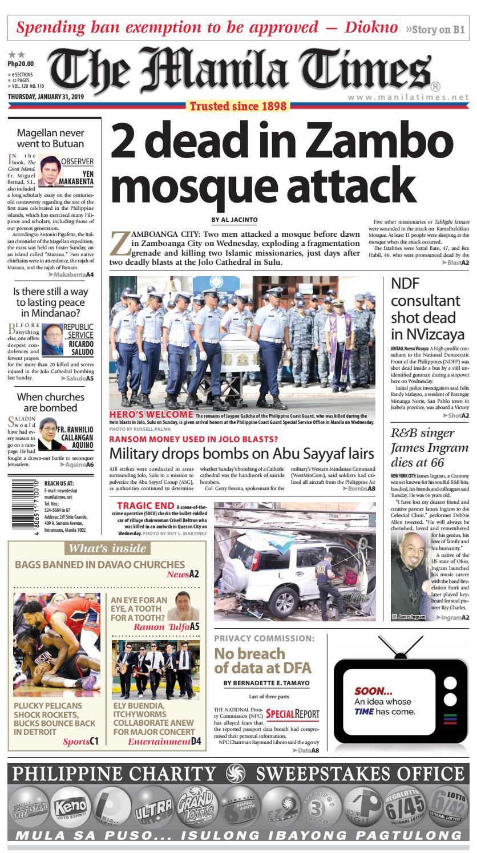 The Manila Times | January 31, 2019 by The Manila Times - issuu