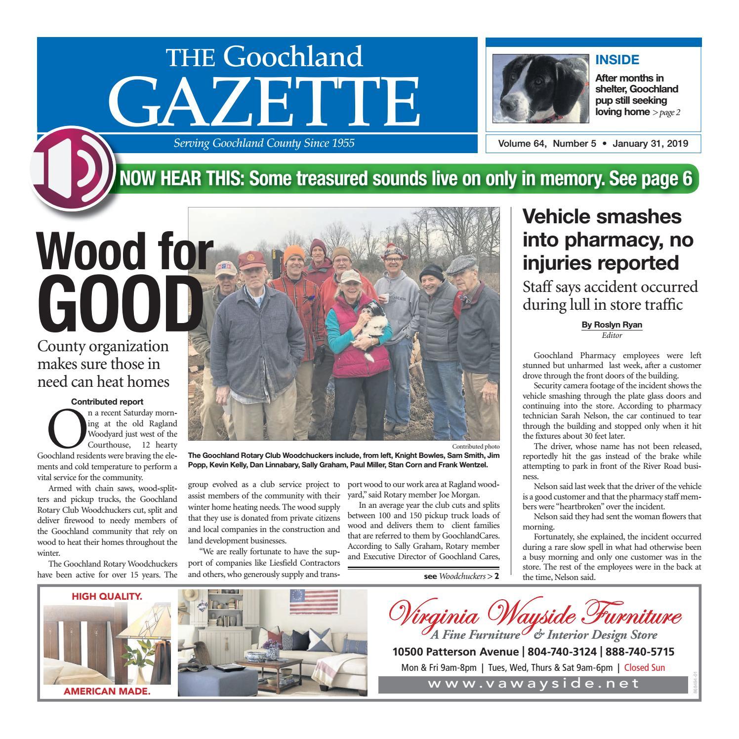3c327d15 1/31/2019 by Goochland Gazette - issuu