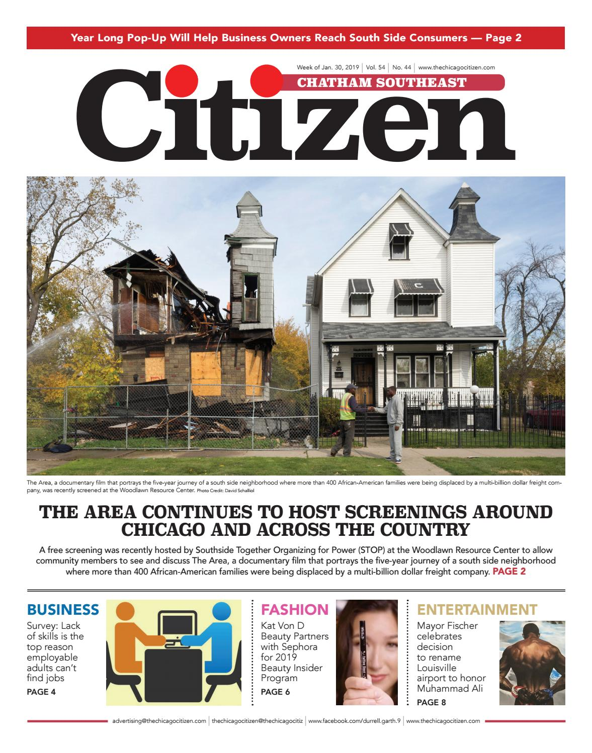 Chatham-Southeast 1-30-2019 by CHICAGO CITIZEN NEWSPAPERS - issuu