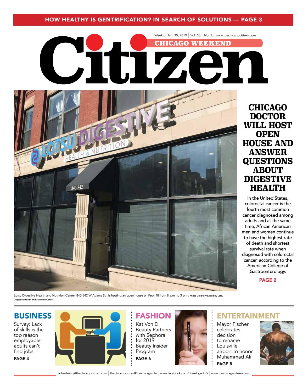 Chicago Weekend 1-30-2019 by CHICAGO CITIZEN NEWSPAPERS - issuu