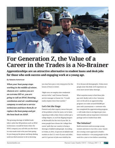 Page 8 of For Generation Z, the Value of a Career in the Trades is Clear