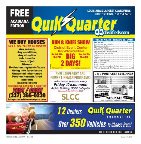 Quik Quarter Acadiana By Part Of The