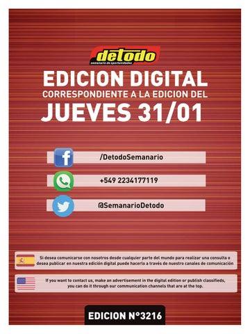 911523257ecd Semanario Detodo - Edición N° 3216 - 31/01/2019 by Semanario Detodo ...