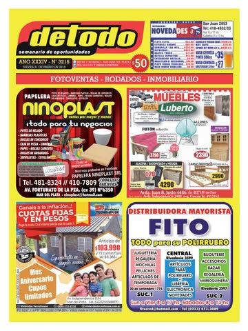 9dfd0d474af0 Semanario Detodo - Edición N° 3216 - 31 01 2019 by Semanario Detodo - issuu