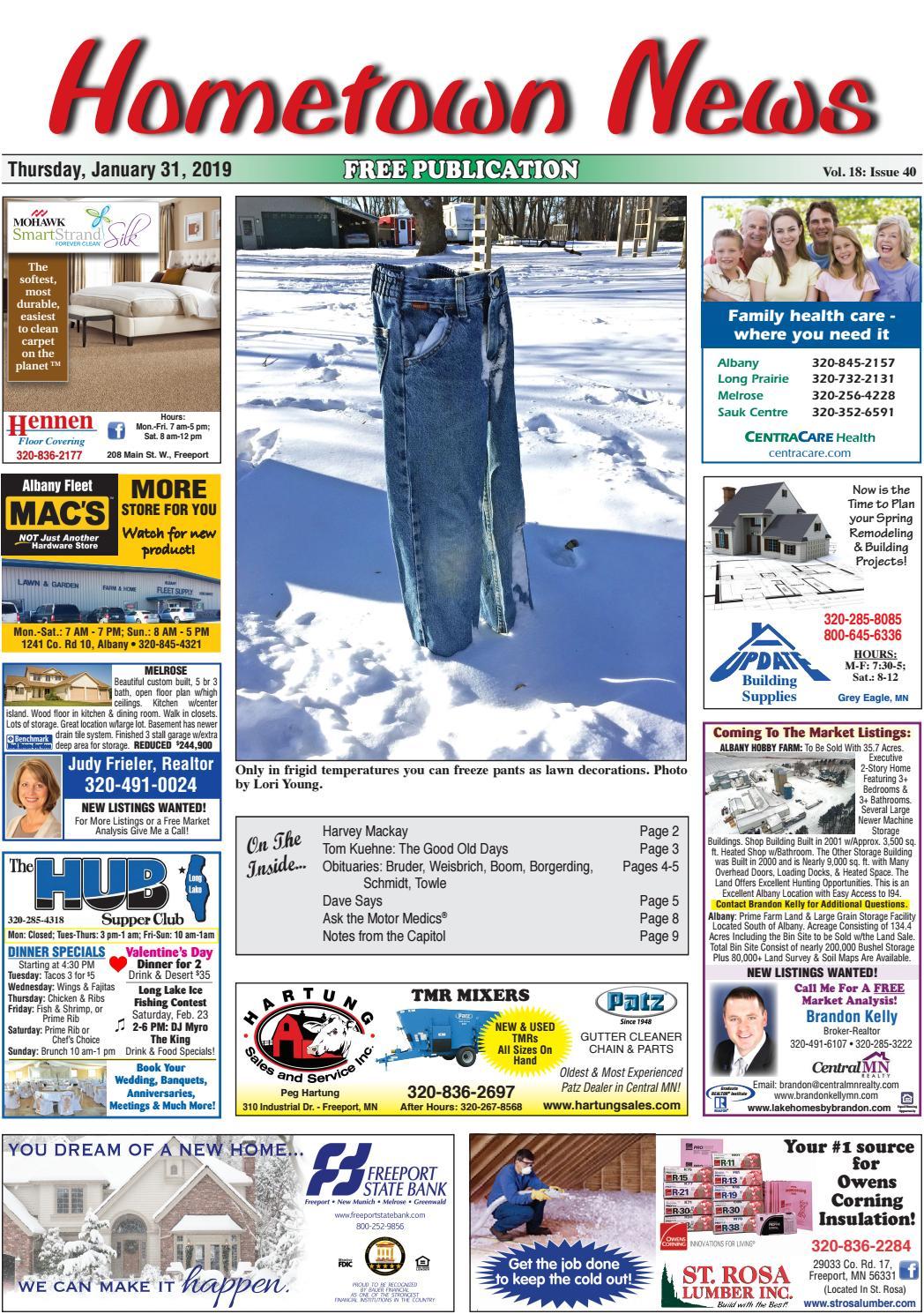 Hometown News January 31, 2019 by Hometown News - issuu
