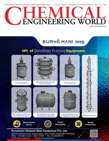 fd7b65cceeab Chemical Engineering World January 2019 by Chemical Engineering ...
