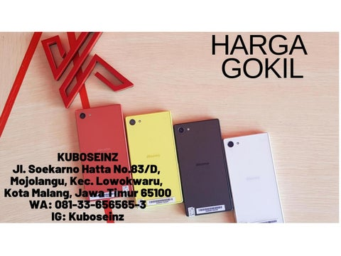 HARGA GOKIL,WA 081–33–656565–3, Hp Batangan Malang