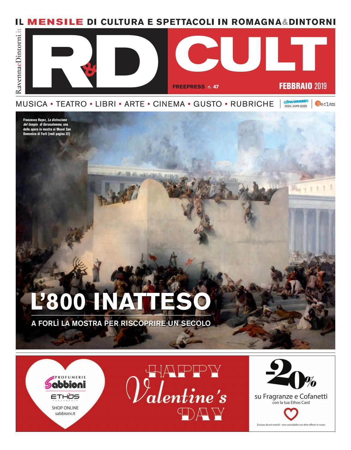 00e87d117b R&D CULT febbraio 2019 by Reclam Edizioni e Comunicazione - issuu
