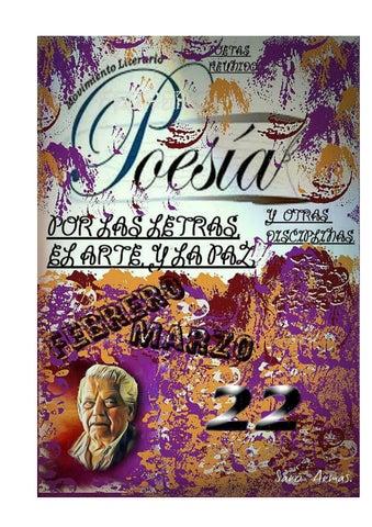 POETAS REUNIDOS POE LAS LETRAS LAS ARTES Y LA PAZ by Arnoldo