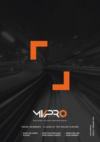 Frame Grabbers | MVPro 13 | February 2019 by Clifton Media