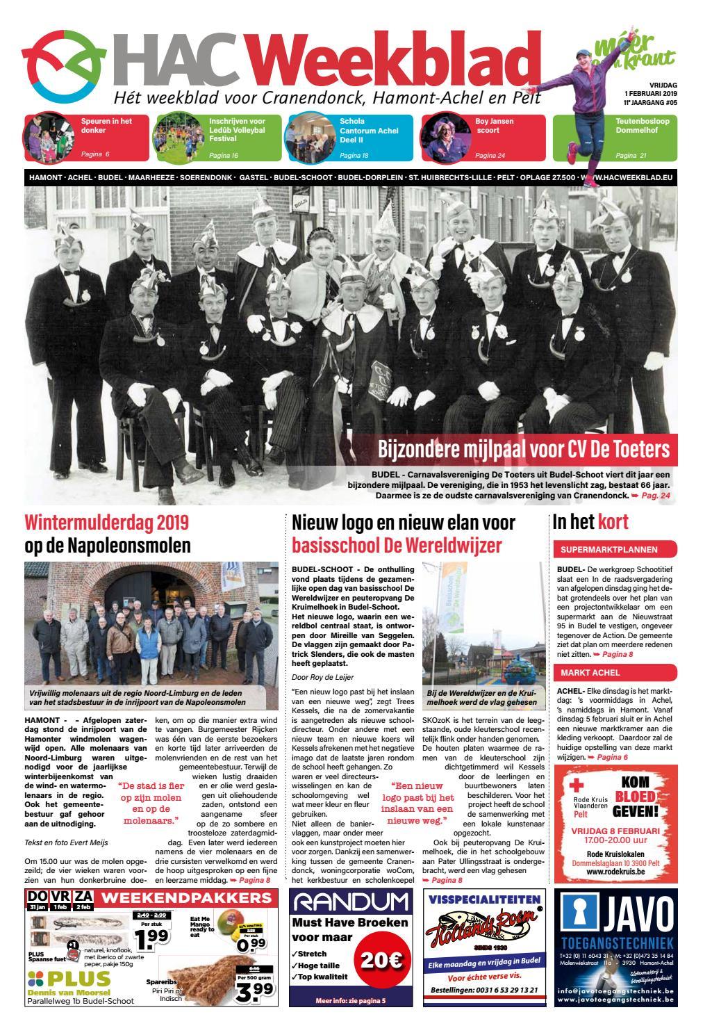 95ba8a8736b HAC Weekblad week 05 2019 NL by HAC Weekblad - issuu