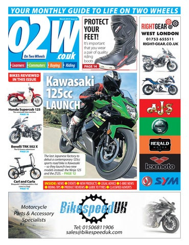 On Two Wheels March 2019 by Mortons Media Group Ltd - issuu