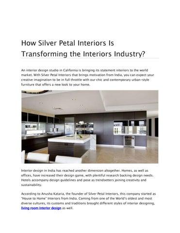 Modern Interior Design Blogs Interior Design Blog California By Silverpetalinterior Issuu
