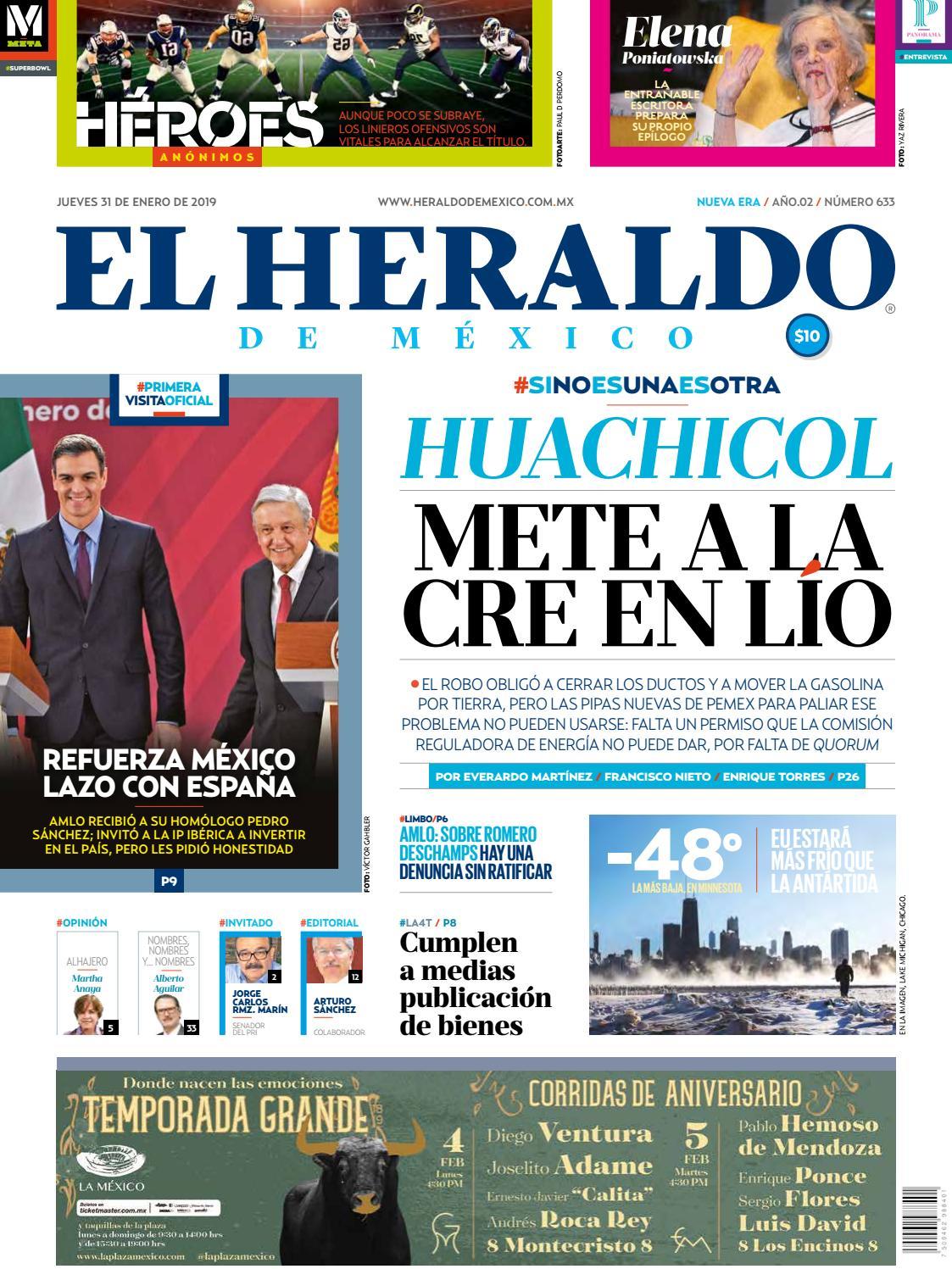 2b52fac5cb 31 de enero de 2019 by El Heraldo de México - issuu