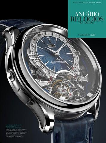 ddd1db7d258 Anuário Relógios   Canetas - Fevereiro 2019 by Anuário Relógios ...
