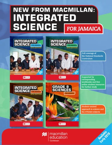 Integrated Science and Grade 9 Science for Jamaica Blad by Macmillan