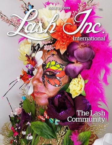 488b6254bb4 ISSUE 21 ELLIPSIS-V 2019. International. The Lash Community