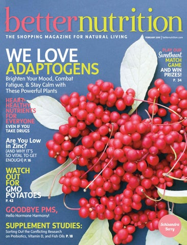 Better Nutrition Magazine presents Osteoarthritis