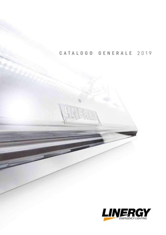 Schema Elettrico Lampada Di Emergenza A Led : Linergy catalogo generale by linergy issuu