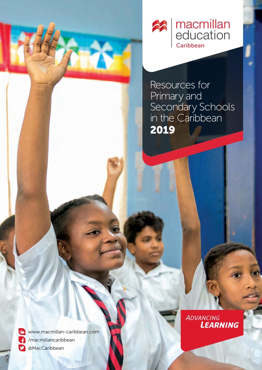 Macmillan Caribbean 2019 Catalogue By Macmillan Education