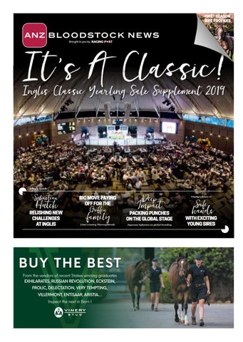 2dedf9c12 Inglis Classic Yearling Sale Supplement 2019 by RACING POST ...