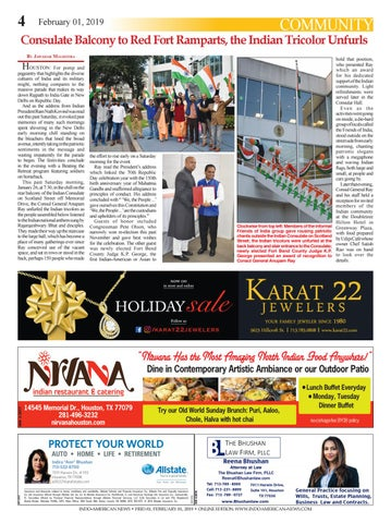 Page 4 of Indian Consulate in Houston celebrates India's 70th Republic Day