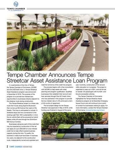 Page 42 of Tempe Chamber Announces Tempe Streetcar Asset Assistance Loan Program