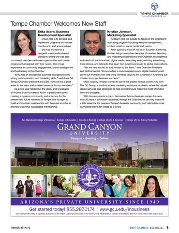 Page 45 of Tempe Chamber Welcomes New Staff