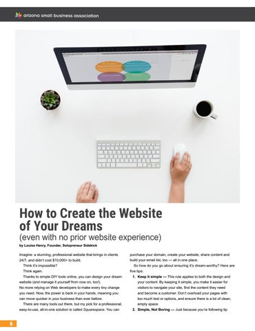 Page 54 of How to Create the Website of Your Dreams