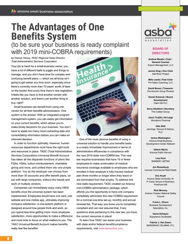 Page 56 of The Advantages of One Benefits System