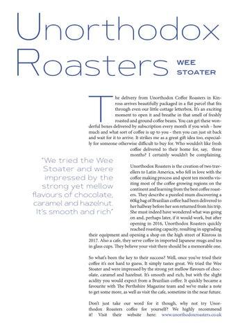 Page 15 of Unorthodox Roasters