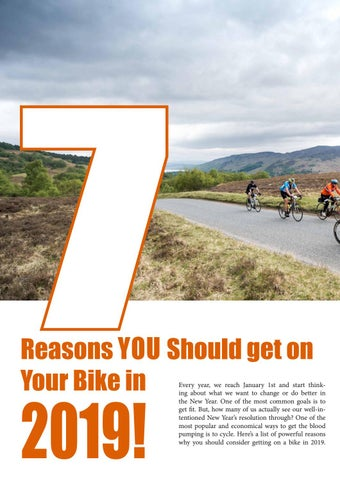 Page 4 of 7 Reasons YOU Should get on Your Bike in 2019