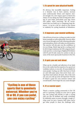 Page 5 of 7 Reasons YOU Should get on Your Bike in 2019