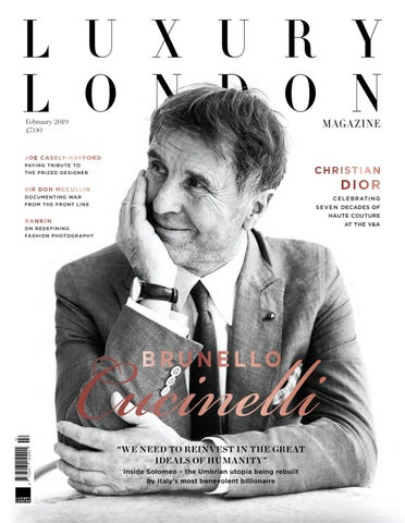60fc337bed3d Luxury London Magazine February 2019 by Luxury London Media - issuu