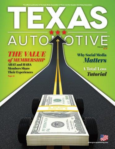 Texas Automotive February 2019 by Thomas Greco Publishing