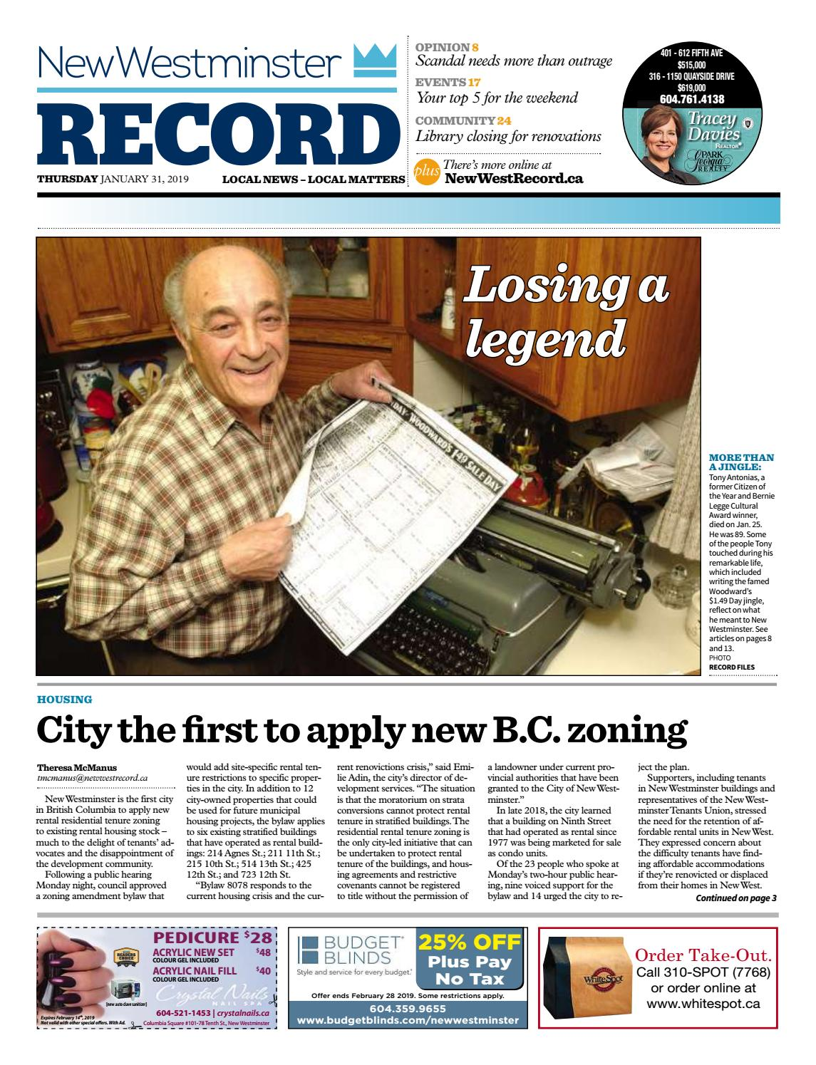 0819bff4d8 New Westminster Record January 31 2019 by Royal-City-Record - issuu