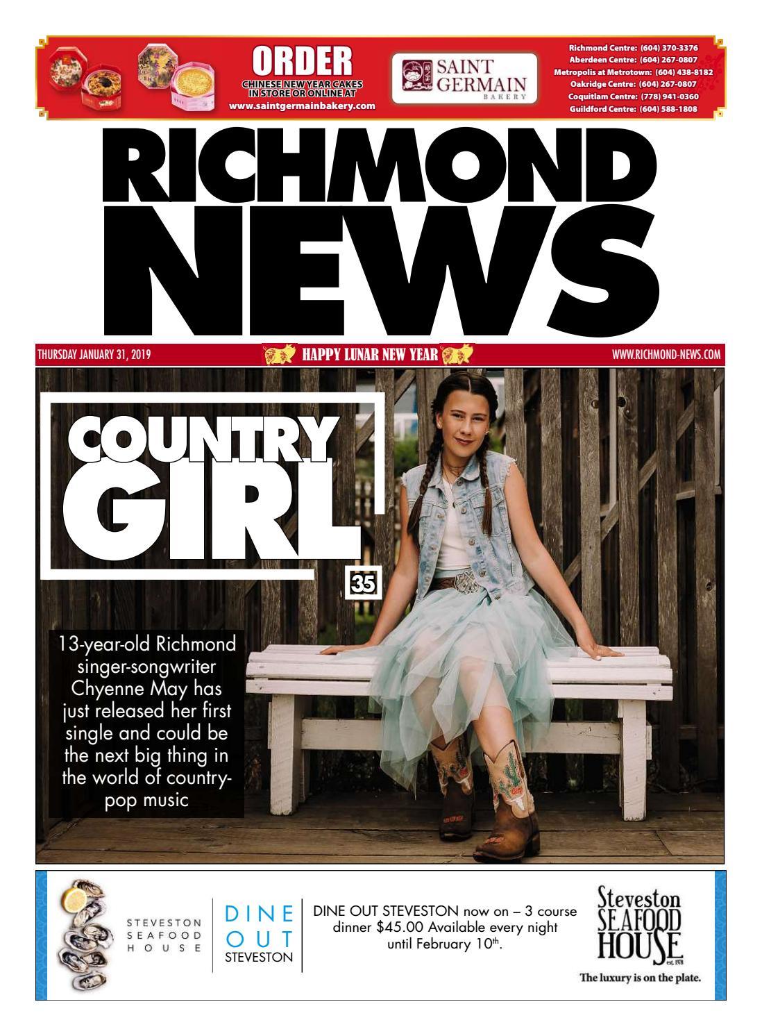 5fff7a19a6 Richmond News January 31 2019 by Richmond News - issuu