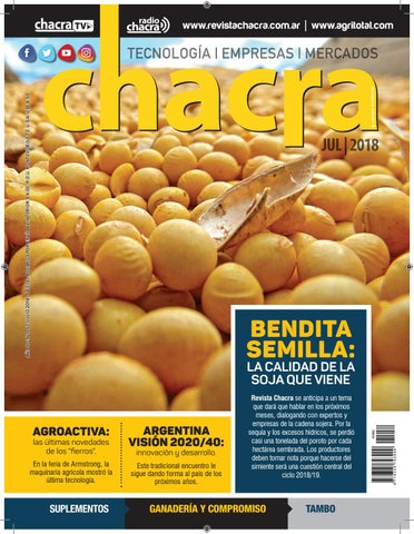7ad7a43be Revista Chacra Nº 1052 - Julio 2018 by Revista Chacra - issuu