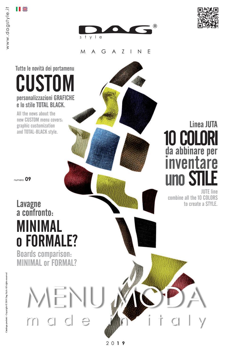 MAGAZINE 09 DAG Style by dagstyle menumoda issuu