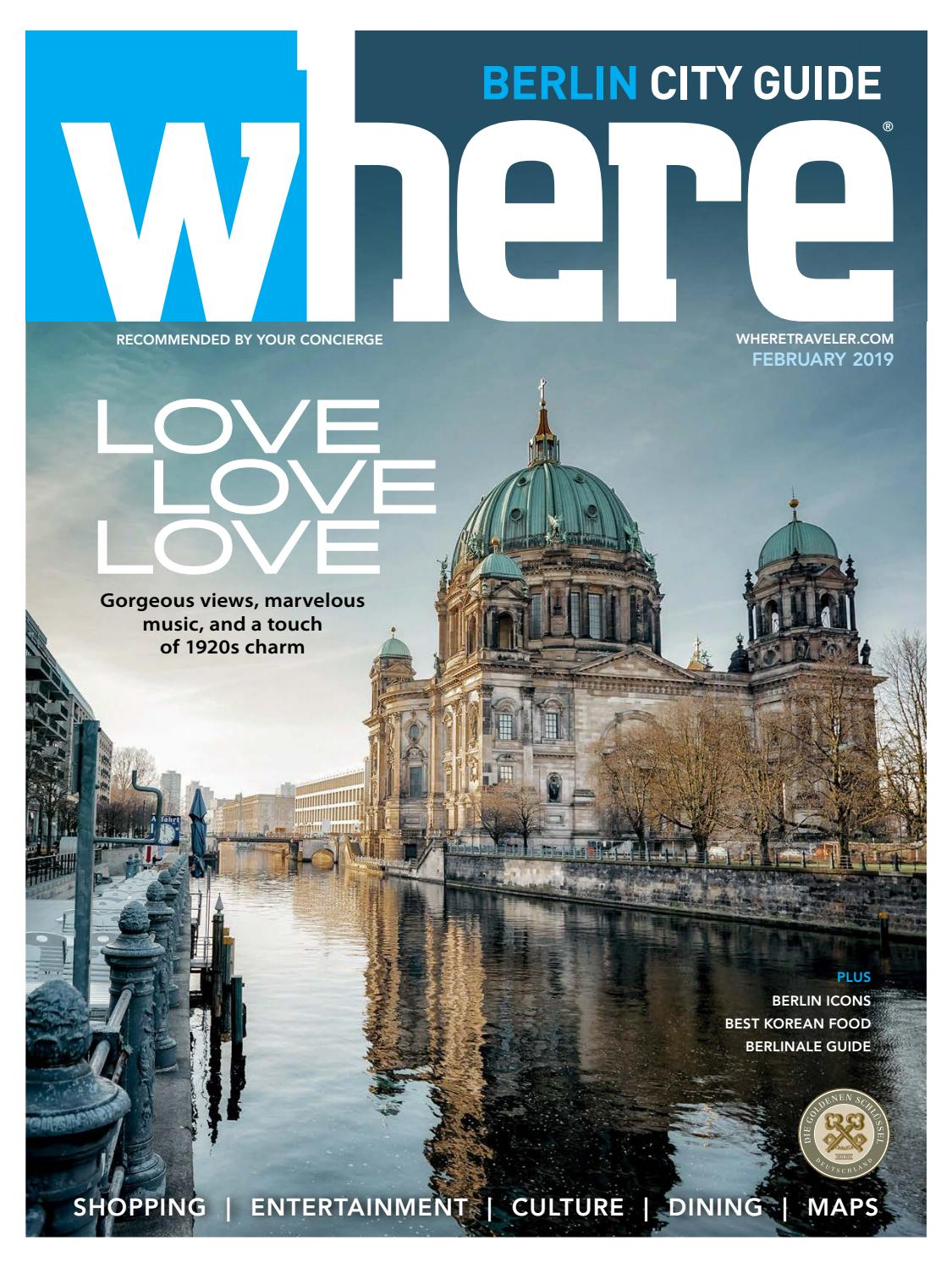 Where Magazine Berlin Feb 2019 By Morris Media Network Issuu