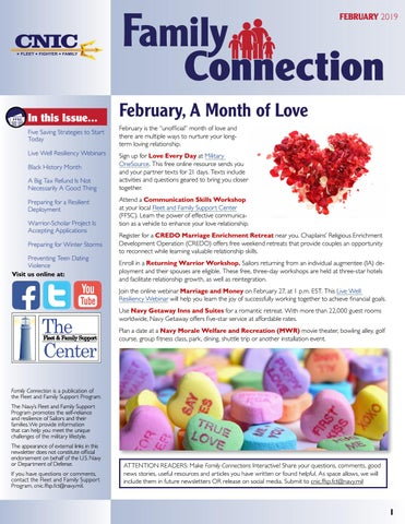 Family Connection Newsletter February 2019 c3c2a062d02