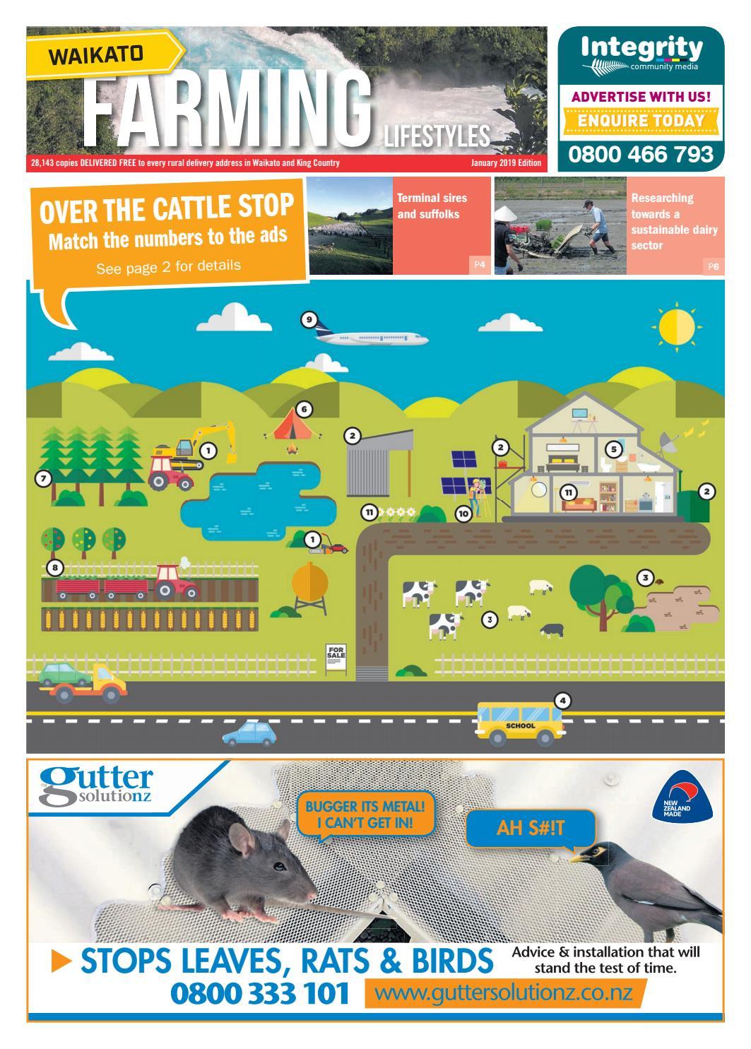 Waikato Farming Lifestyles, January 2019 by Integrity